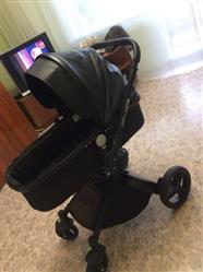 Keyvan verified customer review of Baby Stroller 3 in 1 With Car Seat High View Pram For Newborns Folding 360 Degree Rotation