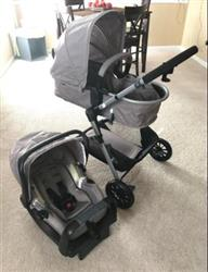 Andi verified customer review of 3 in 1 Luxury 2018 Baby Stroller With Car Seat And Base Fashion Design Travel System Combo Pram