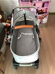 Momma verified customer review of Luxury Leather Baby Stroller Bassinet Design Baby Carriage Travel System Pram