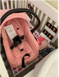 Bernard verified customer review of Aulon Brand Luxury Pink Stroller For Girls Full Set Travel System Bassinet Stroller With Car Seat
