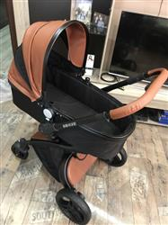 Helen verified customer review of Aulon Baby Stroller 3 in 1 With Car Seat High View Pram For Newborns Folding 360 Degree Rotation