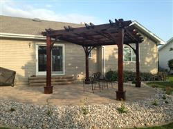 Jessica Z. verified customer review of Outdoor Living Today Breeze Pergola Kit 10' x 12'