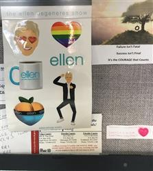 Dawn B. verified customer review of ellen Show Emoji Sticker pack - set of 6