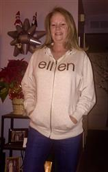 terry k. verified customer review of ellen Show Be Kind Zip Hoodie- Oatmeal