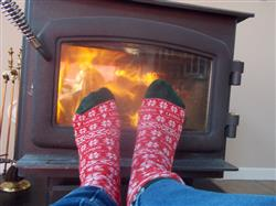 ellen Degeneres Show Winter Socks