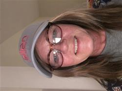 Deborah S. verified customer review of Classic Ellen Show Blue Twill Hat