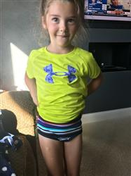 Micheala H. verified customer review of Kids Underwear - Girls