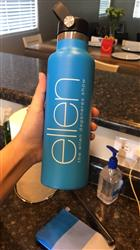 Lizeth F. verified customer review of ellen Show Hydro Flask