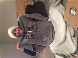 Tammy D. verified customer review of ellen Show Season 14 Be Kind Hoodie