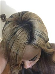 Tiffany F. verified customer review of Silk Base Closure
