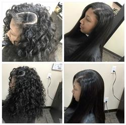 Lé-Aishah L. verified customer review of Silk Base Closure