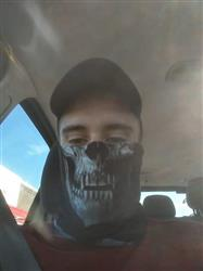Christopher S. verified customer review of Motorcycle Face Mask - Tactical Skull