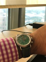 Erdem S. verified customer review of AGL Green Dial Chrono Quartz