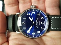 Timothy P. verified customer review of AGL  Blue Dial  / Black Strap Automatic 3 Hands- Ferro & Co watches