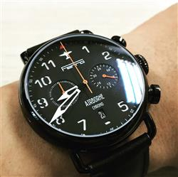 Lam N. verified customer review of Airborne  Black Dial / Black  Case