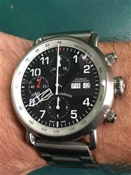 Andrew B. verified customer review of AGL  Black Dial Chrono Automatic