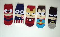 Debashisa Sahu verified customer review of Cute Comic Superheros Ankle Socks(Set of 5 pairs)