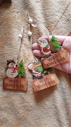 Pattie Gaylord verified customer review of Merry Christmas Wooden Pendants Set