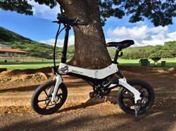 Miguel L. verified customer review of Metro Folding Electric Bike