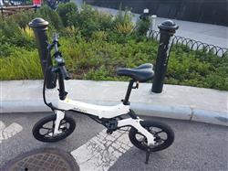 Amine C. verified customer review of Metro Folding Electric Bike