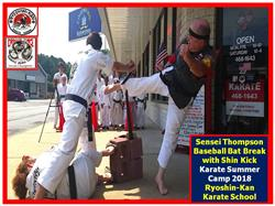 Timothy T. verified customer review of Karate Baseball Bat