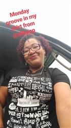 Yolanda F. verified customer review of Korea Collage Tee