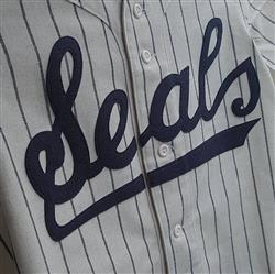 Lisa E. verified customer review of San Francisco Seals 1955 Home Jersey
