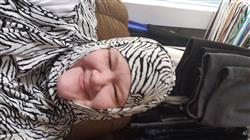 Laura N. verified customer review of Firdevs Practical Hijab Scarf & Bonnet Zebra White Black