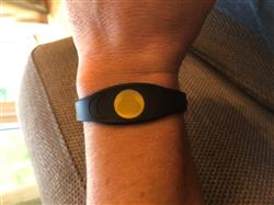 Mark B. verified customer review of Black & Gold Ion Core Bracelet