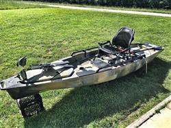 Harrison verified customer review of Hobie Mirage Pro Angler 14 Kayak - 2017