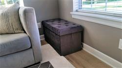 Susan M. verified customer review of Lauren Velvet Rectangular Storage Ottoman