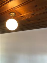 Brandyn S. verified customer review of Tesler Globe Ceiling Light