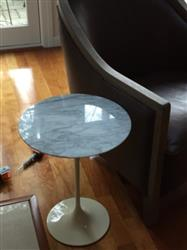 Mary J. verified customer review of 20 Marble Daisy Side Table