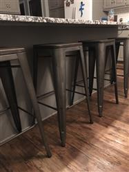 Heather P. verified customer review of Set of 4 - Trattoria 30 Bar Stools