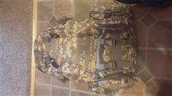 Milton Brindley verified customer review of 50L Tactical Backpack Multifunction Camouflage - 3 Detachable molle Include | Mountain Roar - MRD