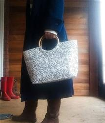 Sarah Jean Harrison verified customer review of Limited Edition - White Weave Handbag