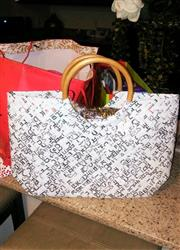 Deborah verified customer review of Limited Edition - White Weave Handbag