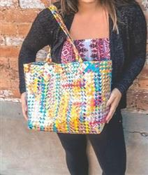 Cass verified customer review of Artisan's Choice Multicolor Tote