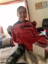 Isabella C. verified customer review of Competitive Gymnast Kids Hoodie