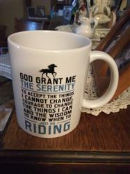 Vicki C. verified customer review of Horse Riding Serenity - Mug