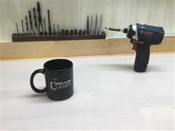 Andrea G. verified customer review of Need More Clamps - Mug