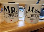 Cameron C. verified customer review of Mr & Mrs Personalized Mugs (Set of Two)