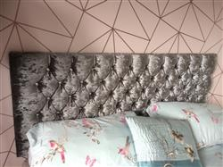 Martine S. verified customer review of Tiffany Upholstered Headboard