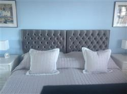 Sally C. verified customer review of Tiffany Upholstered Floor Standing Headboard