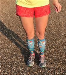 Amanda D. verified customer review of Thanksgiving Compression Leg Sleeves