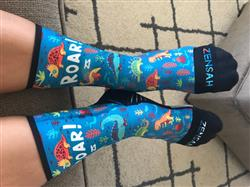 Maria J. verified customer review of Independence Patriotic Socks (Mini Crew)