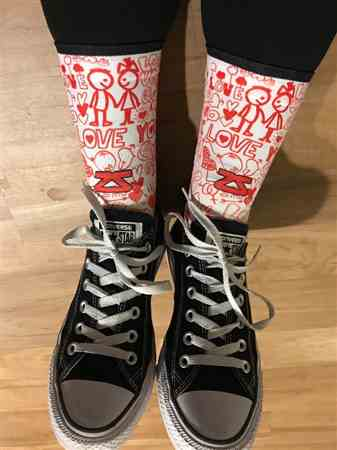 Denise L. verified customer review of Groovy Socks (Mini Crew)
