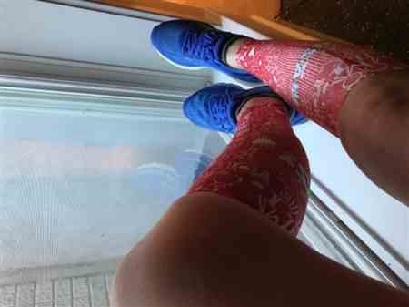 Leanne K. verified customer review of Groovy Socks (Mini Crew)