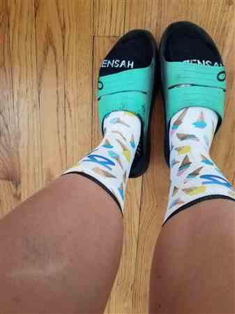 Deanna Bucher verified customer review of Watermelon Socks (No Show)