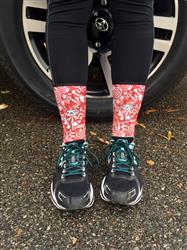 Chelsey L. verified customer review of Foodie Socks (Mini Crew)